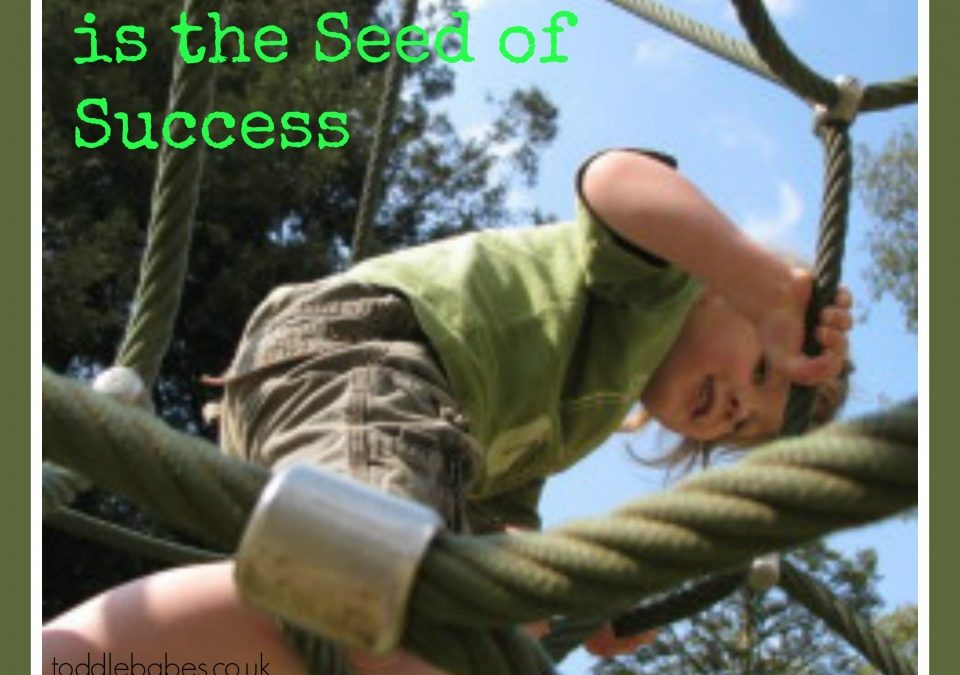 Encouragement is the Seed of Success