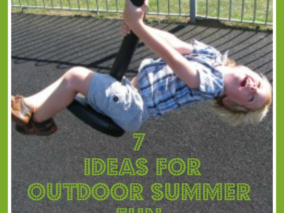 outdoor activities for children, outdoor fun, summer activities, games for children