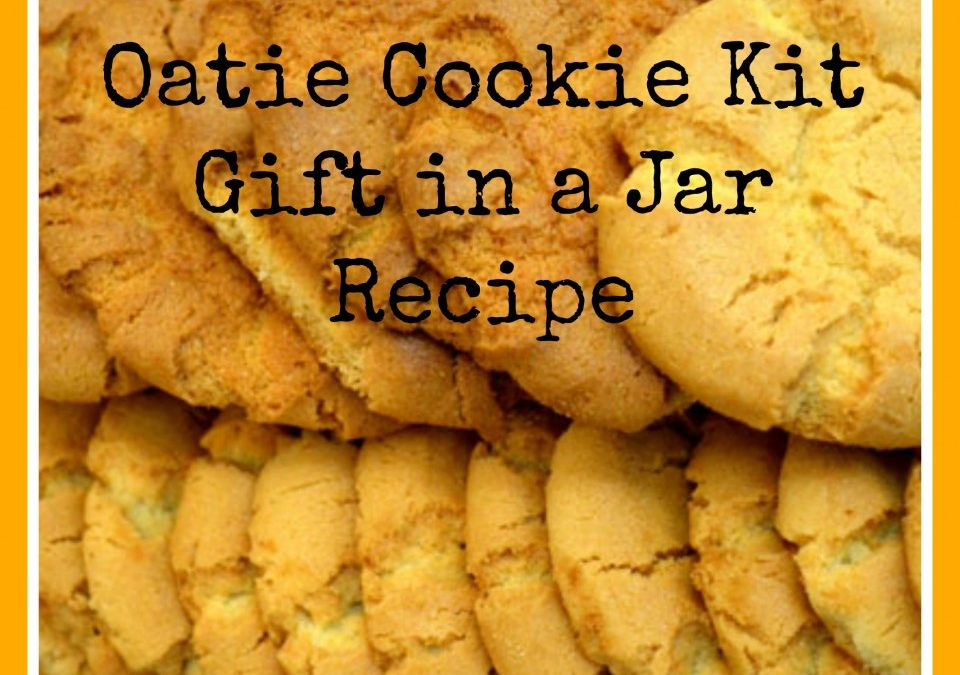 oatmeal cookie recipe, gift recipes, recipes for homeamde cookies