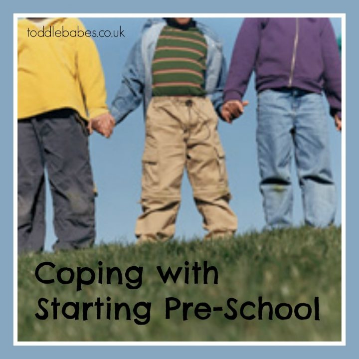 Coping with Starting Pre-School