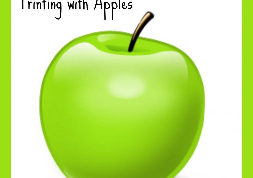 Apples themed crafts, harvest crafts, autumn crafts, apples