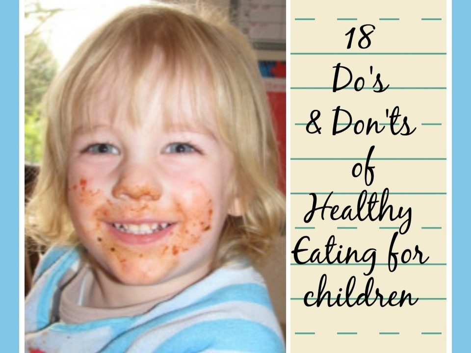 healthy eating for children, healthy meal ideas, getting children to eat healthily