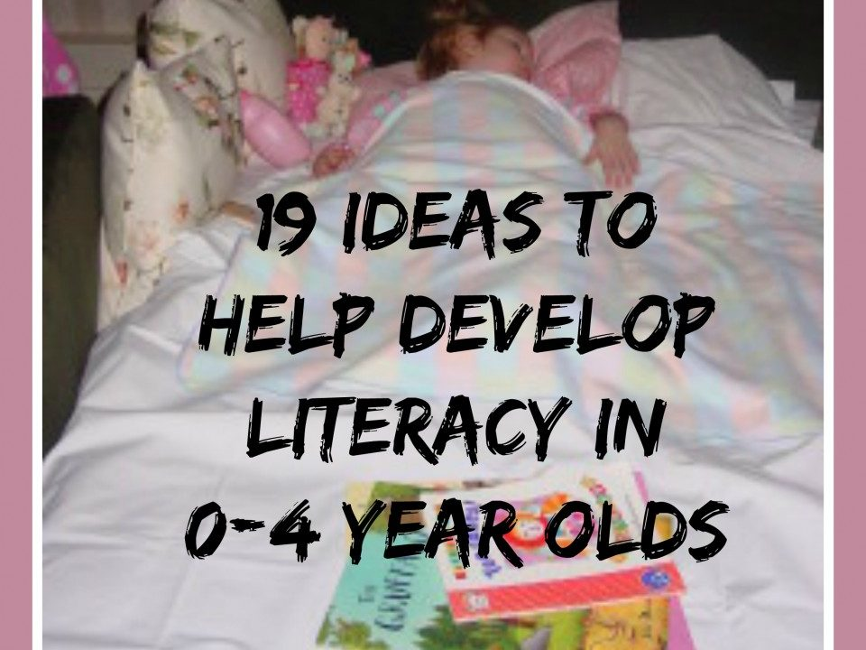 literacy activities, helping children language develop