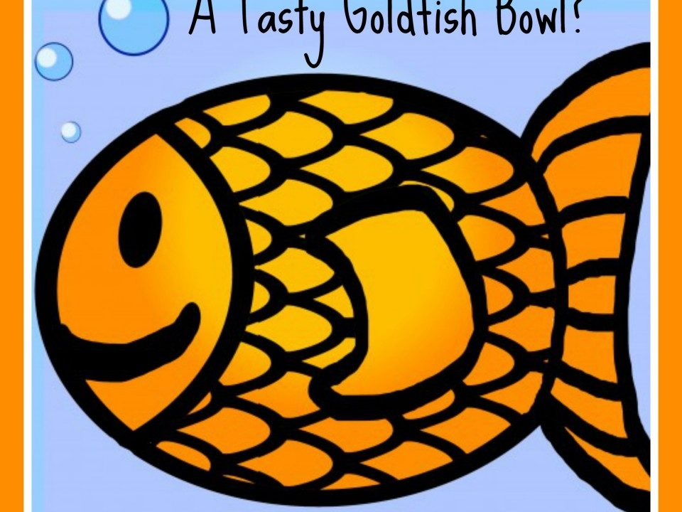 A Tasty Goldfish Bowl?undersea party food,fish theme, beach theme