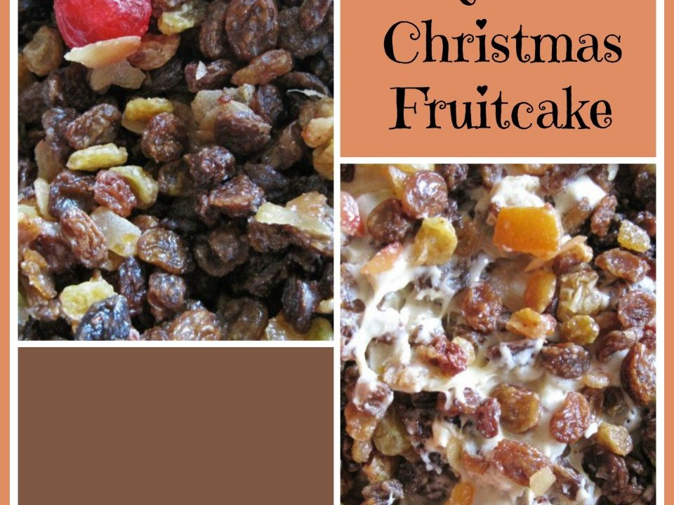 Quick Christmas Fruitcake