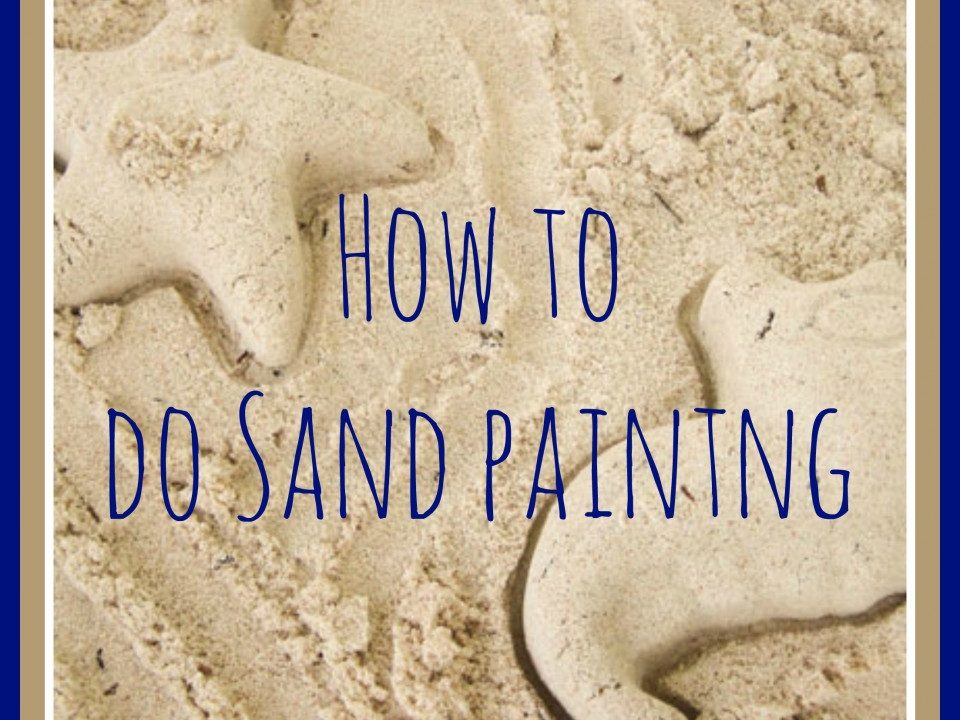 summer crafts, sand art, sand art recipe,