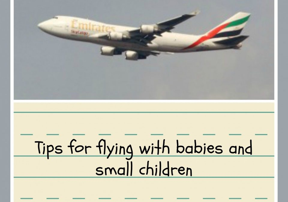 flying with kids,