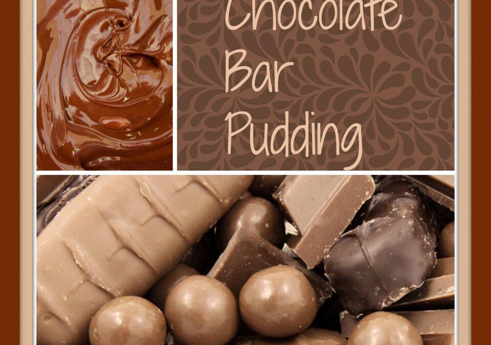Chocolate Bar pudding
