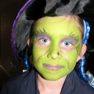 Lime Green Witch Dress Up Costume