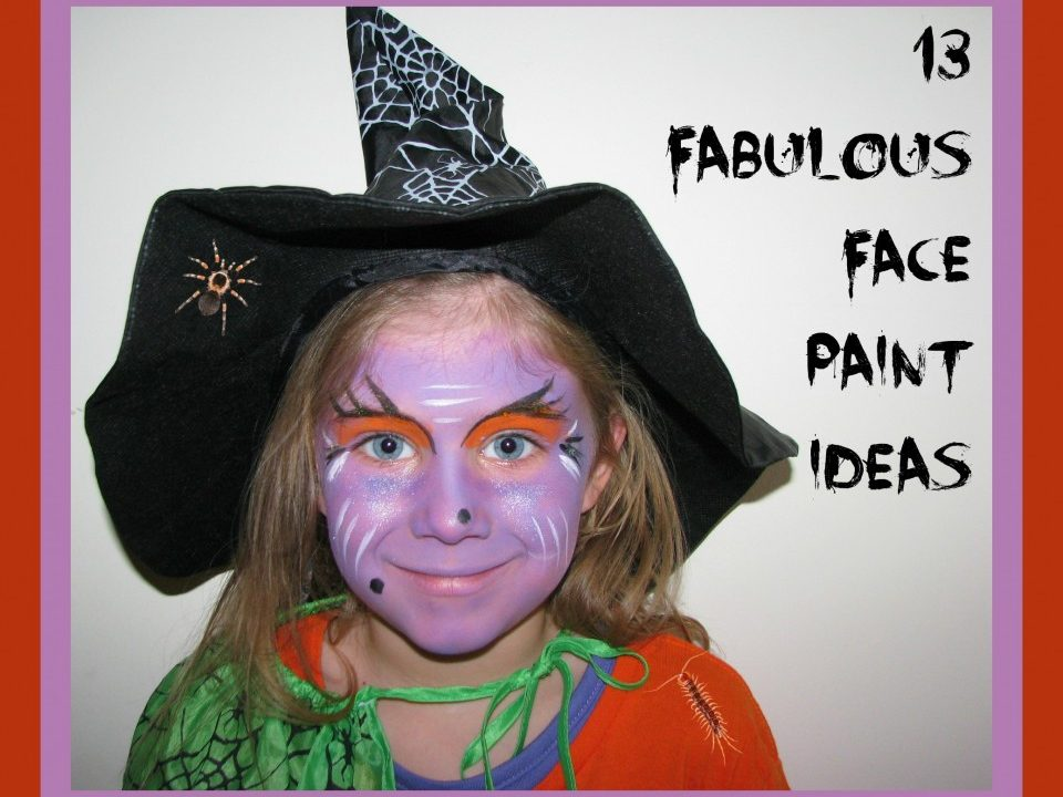 Face paint, gallery, witch, zombie, mermaid, monster, bunny, butterfly, egyptian