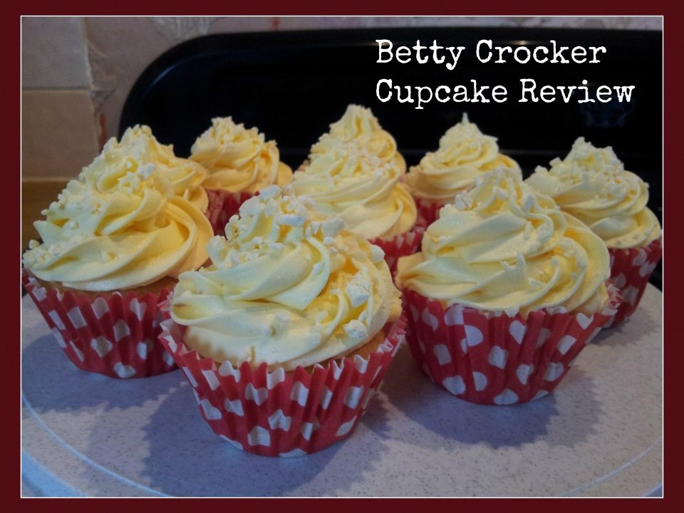 cupcake mix, betty crocker,