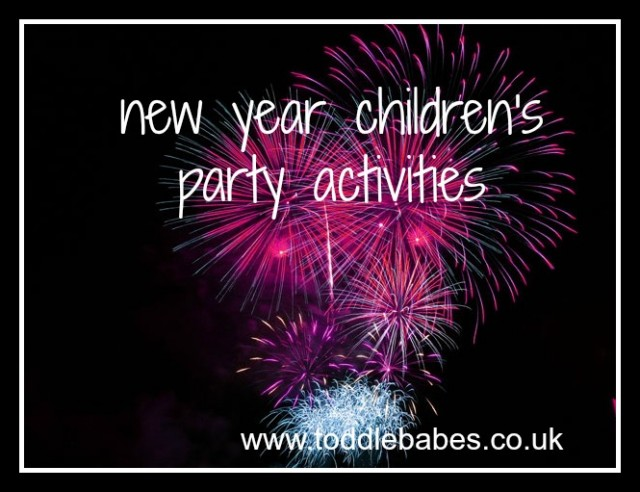 children's new year ideas, toddlebabes,