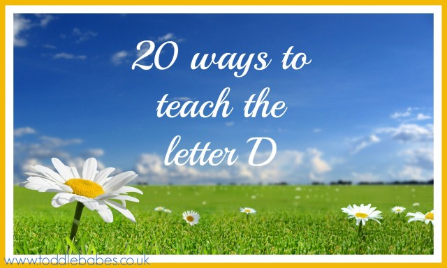 toddlebabes, letter d